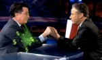 Colbert transfers his SuperPAC to Jon Stewart